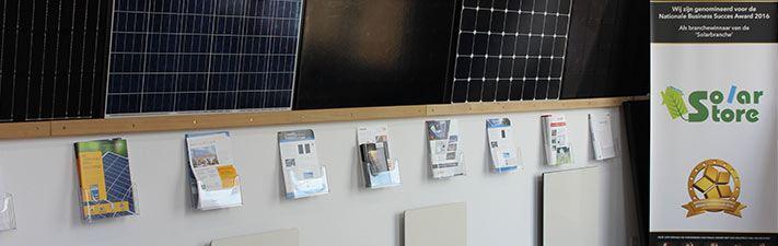 Bezoek de showroom van De Solar Store en bekijk onze zonnepanelen, omvormers en infrarood-verwarmingen.