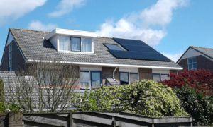 De zonnepanelen van Solar World hebben een hoog rendement en zijn bestand tegen extreme weersomstandigheden.
