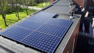 De Sunpower E-serie zonnepanelen verliezen gedurende 25 jaar weinig tot niets aan kracht.