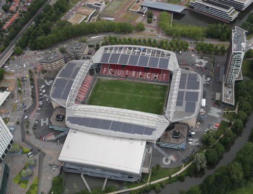 Duurzaam project: zonnepanelen op Stadion Galgenwaard